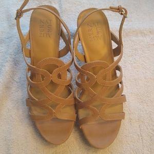 Naturalizer Cameron,Gingersnap Sandals Size 9M